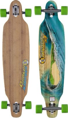 "Sector 9 Lookout 41.125"" Bamboo Drop Through Complete Longboard - Skate Shop > Completes > Longboard Completes"