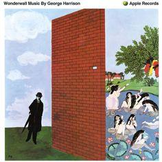 Vinyl Music, Lp Vinyl, Art Music, George Harrison Albums, Vinyl Store, Music Album Covers, Wonderwall, Animation Background, Cultura Pop