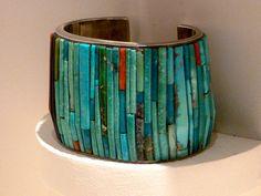 Mosaic Inlay bracelet by Charles Loloma, Hopi | Flickr - Photo Sharing!
