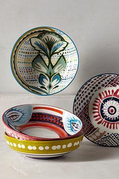 Orchid Pavilion Bowl #anthrofave #anthropologie