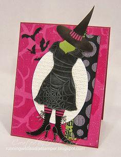 MDS Hybrid: Witchy Cool by RunningwScissorsStamper, Stampin Up, My Digital Studio, Wicked Fun Kit