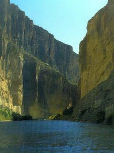 Santa Elena Canyon - Big Bend National Park... Another great place we'd consider for a wedding spot.