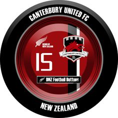DNZ Football Buttons: Canterbury United FC