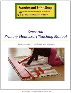 Primary Montessori Teaching Manuals for Practical Life, Language, Sensorial and Math. Learn how to teach Montessori. Our Montessori Teaching Manuals are based on Montessori AMI Principles and Concepts. An excellent compliment to our Montessori materials. Montessori Theory, Montessori Classroom, Primary Teaching, Teaching Math, Montessori Practical Life, Preschool At Home, Preschool Ideas, Homeschool Curriculum, Homeschooling