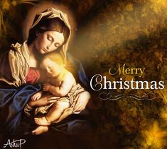 Christmas Blessings card from our dear friend, Alice!