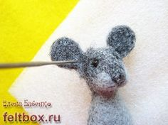 Needle Felting Tutorial / Mouse