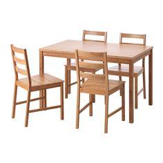 IKEA - FINEDE, Tisch und 4 Stühle, Aus Bambus, einem pflegeleichten, robusten Naturmaterial.