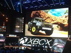 """Forza Horizon 3 presentación usando computadora """"high end performance  in 4K"""" #xboxe3 #e32016 #e3"""