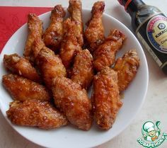 Хрустящие крылышки по-китайски - кулинарный рецепт