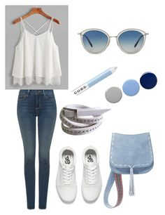 Style statement by varnima on Polyvore featuring polyvore fashion style NYDJ Vans Steve Madden Oliver Peoples Marc Jacobs Burberry clothing