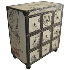 Post Card Chest