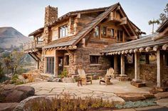 A rustic get away cabin!