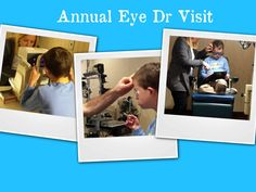 Annual Eye Dr Visit For A Child With Special Needs
