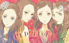 Red Velvet fan art