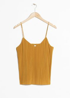 #andotherstories #&otherstories #pleated #tanktop
