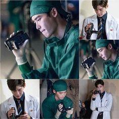Lee Jong Suk monitors himself on the set of 'Doctor Stranger' | allkpop.com
