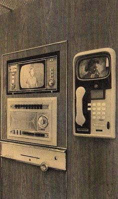 1957 Monsanto Home Of The Future Phone