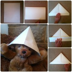 21 papercraft ideas The paper hat