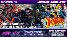 This week, Origin Stories continues with it's X-men conversations about the super villain Mister Sinister and his possible ties in future upcoming X-men film. Homemade Group Halloween Costumes, Frank Castle Punisher, Mr Sinister, Black Widow Scarlett, Deadman Wonderland, Anime Reviews, Peggy Carter, Chris Evans Captain America, Jokes For Kids
