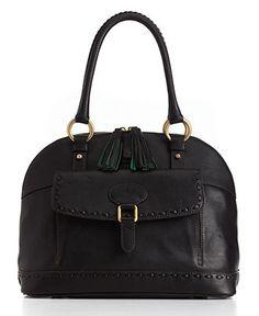 Dooney & Bourke Handbag, Florentine Vachetta Domed Satchel - All Handbags - Handbags & Accessories - Macy's