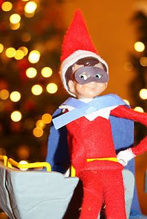 76cc8139c My boys would love our elf to dress up as a super hero! Super Elf
