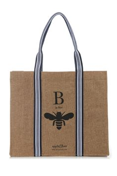 B is for Bee Tote. $20  #eco friendly #totes #bees