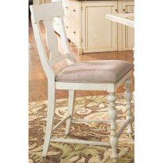 Paula Deen Linen Counter Height Chair