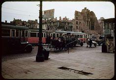 Ruiny w kolorze Skrzyzowanie Al. Jerozolimskich i Nowego Światu Henry Cobb 1947