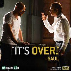 Saul puts his foot down. - Breaking Bad