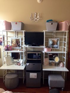 College dorm room organizer @containerstore Texas A&M - Hullabaloo
