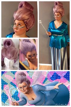 Fairy Godmother Cosplay from Shrek 2