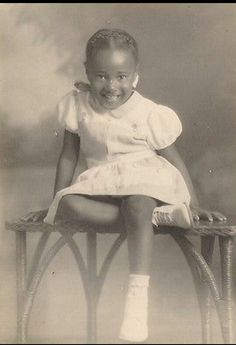 Black Archive : found African American child
