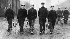 """Coal was central to the war effort. It not only kept people warm but powered industry, railways and shipping. After the loss of French and Belgian coalfields to the Allied war effort, Welsh coal was all the more important. This meant that the war saw some form of prosperity return to the south Wales coalfield after the long, hard inter-war years. """"One in ten eighteen-year-olds were drafted into mines rather than the forces"""""""