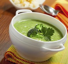 Sopa verde detox