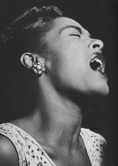 Billie Holiday ,one of my all time favorites!