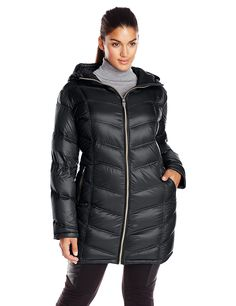 Calvin Klein Women's Plus-Size Packable Down Coat -- Find out more about the great product at the image link.