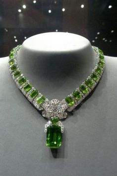 green # Superb Burmese peridot