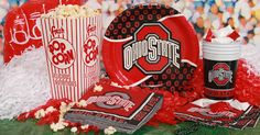 Ohio State Buckeyes Party Supplies at Birthday Direct