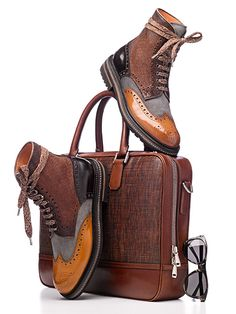 David Lewis Taylor Shoes & bag If you Love #Menswear Like our FB page  https://www.facebook.com/effstyle