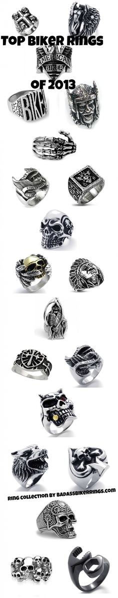 Biker Ring Collection 2013