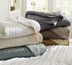 Quilts, Comforters, Down Comforters, & Bedspreads | Pottery Barn