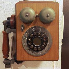 女性で、Lounge/レトロ/電話機/アンティーク風/大正ロマンについてのインテリア実例。 「使えます...」 (2017-12-27 09:09:24に共有されました)