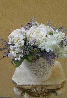 umělé květiny dekorace - Hledat Googlem