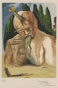 Salvador Dalí / Robert Rauschenberg – L'Inferno di Dante