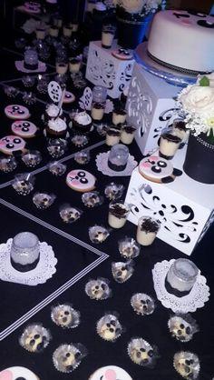 Nuestra mesa de dulces de fiesta temática oso panda @ideasdiskretas