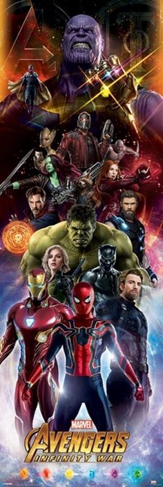Avengers Infinity War Promo Posters