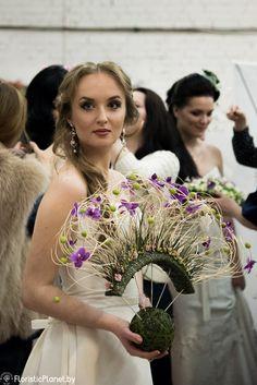 Свадебный показ Лоры Белобровик | Планета Флористики | Интернет журнал о флористике.