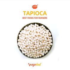 #Tapioca improves digestion, lowers cholesterol and maintains fluid balance within the body.Its thick, chewy texture is fun to eat, making it prime for desserts, gummy candies, and other fun foods :)
