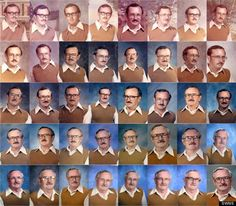 Wore the same outfit for 40 years! Hilarious
