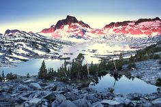 California - Banner Peak sunrise - Pacific Crest Trail Association - Photo Gallery